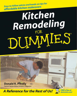 Kitchen Remodeling for Dummies book