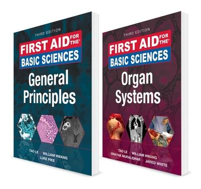 First Aid for the Basic Sciences, Third Edition (VALUE PACK) by Tao Le