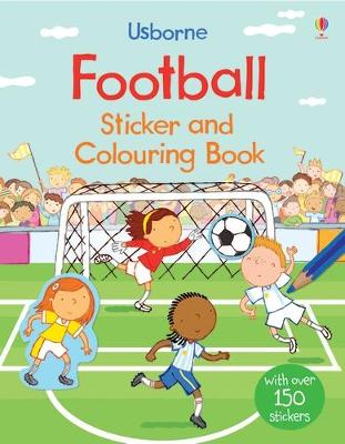 Football Sticker and Colouring Book book