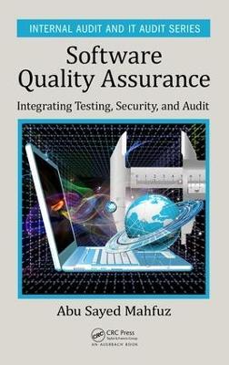 Software Quality Assurance by Abu Sayed Mahfuz