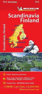 Scandinavia & Finland - Michelin National Map 711: Map book