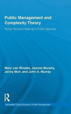 Public Management and Complexity Theory by Mary Lee Rhodes
