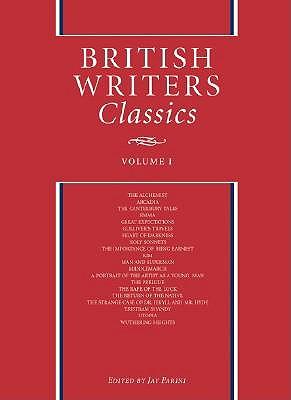 British Writers Classics: Vol 1 by Jay Parini