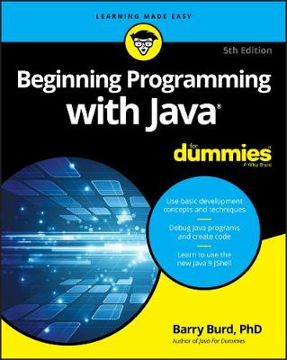 Beginning Programming with Java For Dummies book
