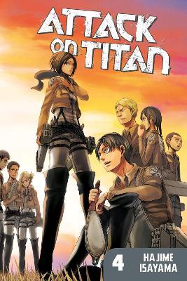 Attack On Titan 4 book