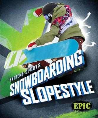 Snowboarding Slopestyle by Thomas K Adamson