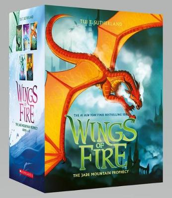 Wings of Fire 6-10 Boxed Set: the Jade Mountain Prophecy by Tui,T Sutherland