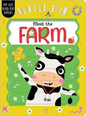 Puzzle Stix: Meet the Farm book