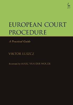 European Court Procedure by Viktor Luszcz