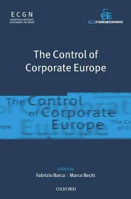 Control of Corporate Europe book