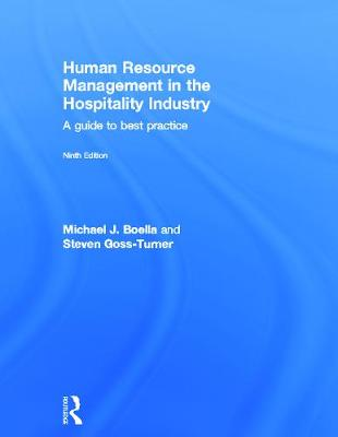 Human Resource Management in the Hospitality Industry by Michael Boella