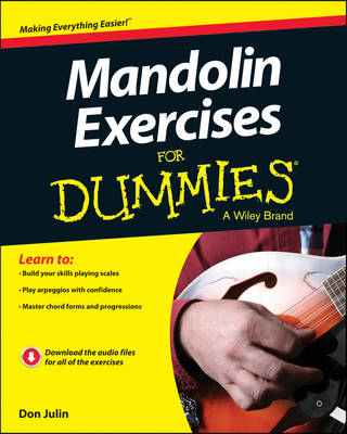 Mandolin Exercises For Dummies by Don Julin