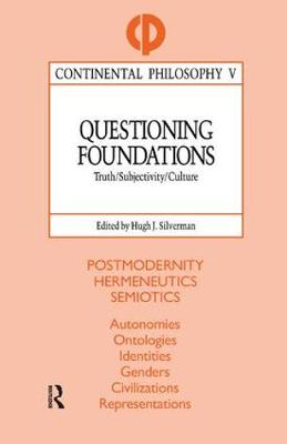 Questioning Foundations book