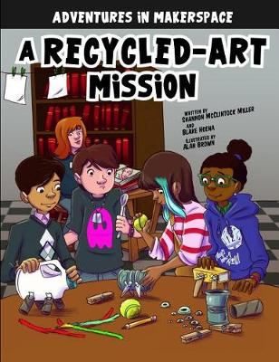 A Recycled-Art Mission book