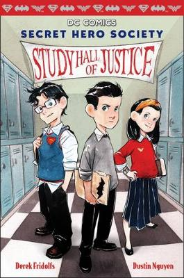 Study Hall of Justice Dc Comic by Derek Fridolfs