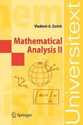 Mathematical Analysis II by Vladimir A. Zorich