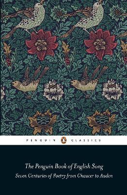 Penguin Book of English Song book