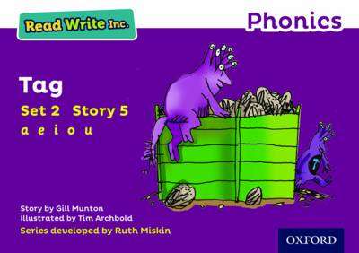 Read Write Inc. Phonics: Purple Set 2 Storybook 5 Tag book
