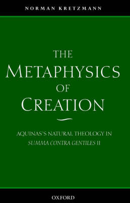 Metaphysics of Creation book