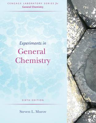 Experiments in General Chemistry by Steven Murov