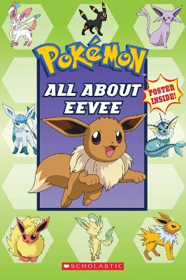 POKEMON ALL ABOUT EEVEE book