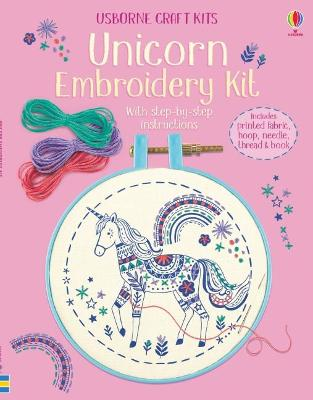 Embroidery Kit: Unicorn book