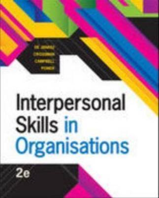 Interpersonal Skills in Organisations book