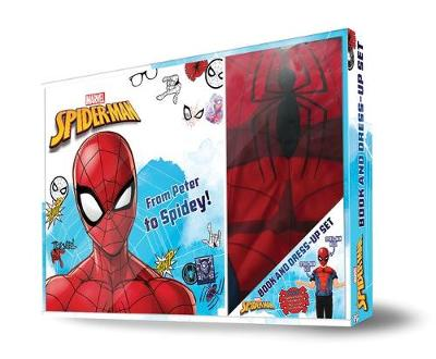 SPIDER-MAN BOOK & DRESS-UP BOX book