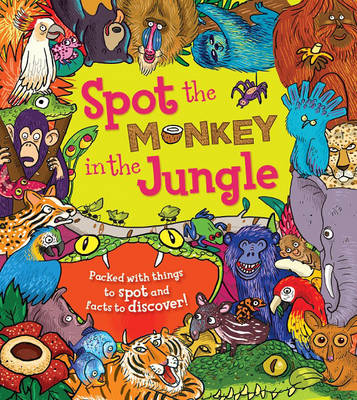 Spot the Monkey in the Jungle by Stella Maidment