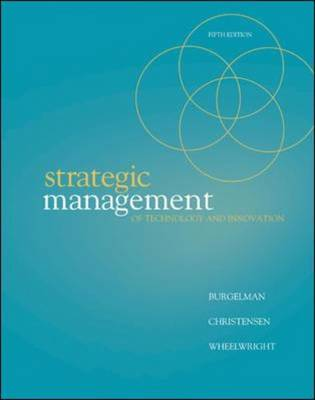 Strategic Management of Technology and Innovation book