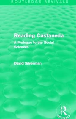 Reading Castaneda by David Silverman