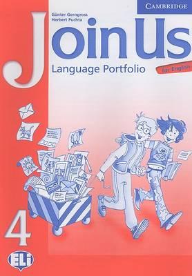 Join Us for English 4 Language Portfolio book