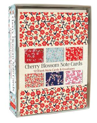 Cherry Blossom Note Cards by Tuttle Editors