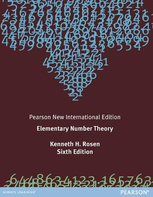 Elementary Number Theory: Pearson New International Edition by Kenneth H. Rosen