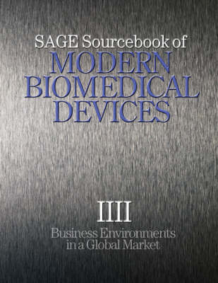 SAGE Sourcebook of Modern Biomedical Devices by Decision Resources Inc.