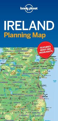 Lonely Planet Ireland Planning Map book