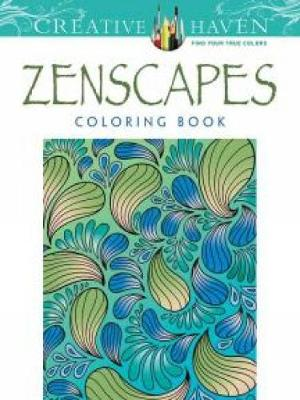 Creative Haven Zenscapes Coloring Book by Jessica Mazurkiewicz