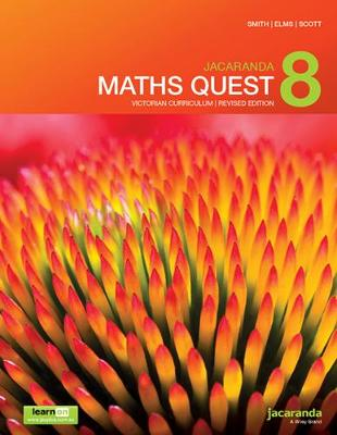 Jacaranda Maths Quest 8 Victorian Curriculum 1E (Revised) LearnON & Print book
