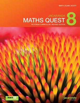 Jacaranda Maths Quest 8 Victorian Curriculum 1E (Revised) LearnON & Print by Kylie Boucher