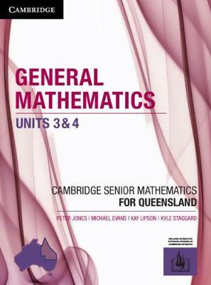 CSM QLD General Mathematics Units 3 and 4 by Peter Jones