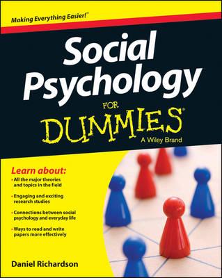 Social Psychology for Dummies by Daniel Richardson