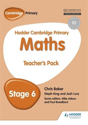 Hodder Cambridge Primary Maths Teacher's Pack 6 by Mike Askew