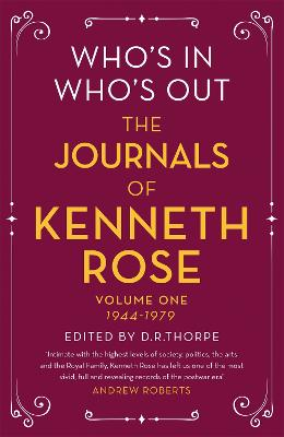 Who's In, Who's Out by Kenneth Rose