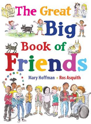 Great Big Book of Friends by Mary Hoffman