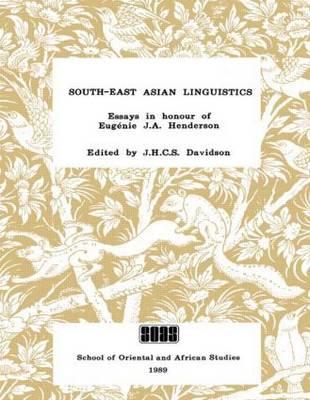 South-east Asian Linguistics by J. S. Davidson
