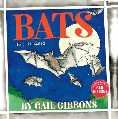 Bats (New & Updated Edition) by Gail Gibbons