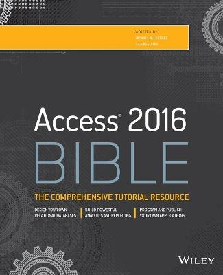 Access 2016 Bible book