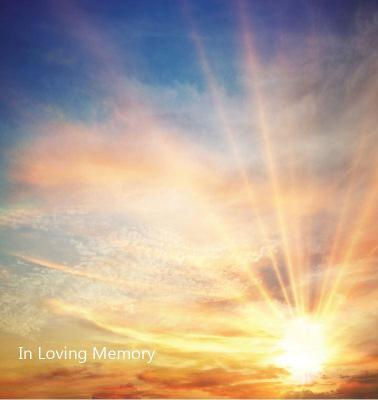 In Loving Memory Funeral Guest Book, Wake, Loss, Memorial Service, Love, Condolence Book, Funeral Home, Church, Thoughts and In Memory Guest Book (Hardback) by Lollys Publishing