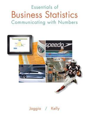 Essentials of Business Statistics by Sanjiv Jaggia