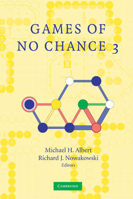 Games of No Chance 3 by Michael H. Albert